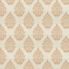 Tangerine Floral Decorator Fabric by Fabricut