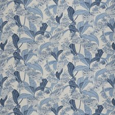 Bluebell Floral Decorator Fabric by Vervain