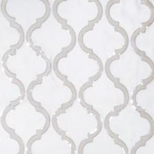 Silver Fog Embroidery Decorator Fabric by Fabricut