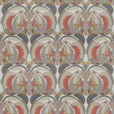 Pamplemousse Geometric Decorator Fabric by S. Harris