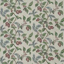 Plum Floral Decorator Fabric by Fabricut