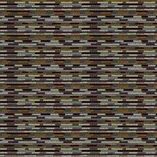 Plum Citron Stripes Decorator Fabric by S. Harris