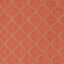 Salmon Small Scale Woven Decorator Fabric by Vervain