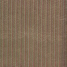 Beige/Green/Yellow Stripes Decorator Fabric by G P & J Baker