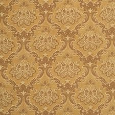 Honey Damask Decorator Fabric by Vervain