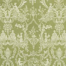 Celery Asian Decorator Fabric by Vervain