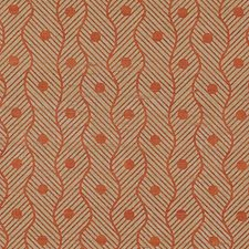 Sienna Geometric Decorator Fabric by Vervain