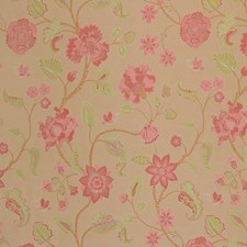 Strawberry Floral Decorator Fabric by Vervain