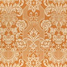 Pumpkin Print Pattern Decorator Fabric by Vervain