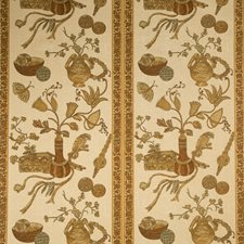 Caramel Global Decorator Fabric by Vervain