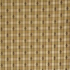 Chestnut Small Scale Woven Decorator Fabric by Vervain