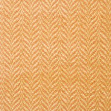 Melon Herringbone Decorator Fabric by Vervain