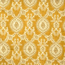 Golden Animal Decorator Fabric by Vervain