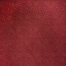 Scarlet Paisley Decorator Fabric by Stroheim