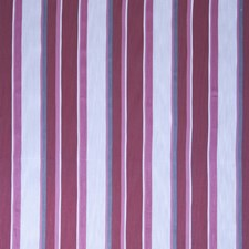 Scarlet Stripes Decorator Fabric by Stroheim