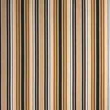 Mocha Stripes Decorator Fabric by Stroheim
