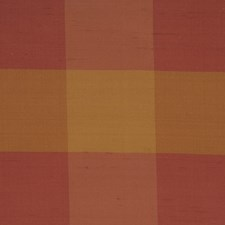 Raspberry Check Decorator Fabric by Trend