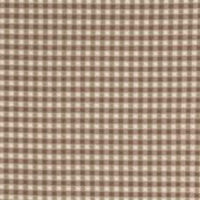 Khaki Check Decorator Fabric by Trend