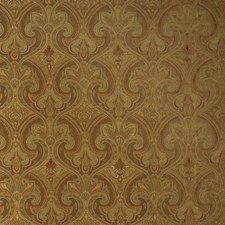 Bronze Paisley Decorator Fabric by Trend