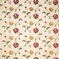 Champagne Floral Decorator Fabric by Trend