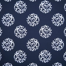 Navy Decorator Fabric by Silver State