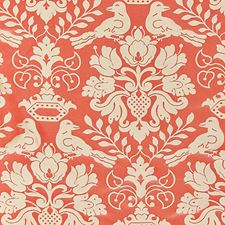Melon/Bronze Decorator Fabric by Scalamandre