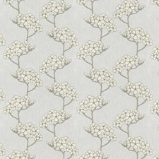 White Sand Embroidery Decorator Fabric by Fabricut