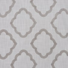 White/Slate Decorator Fabric by RM Coco