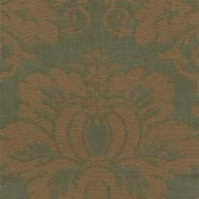 Green Damask Decorator Fabric by Kravet