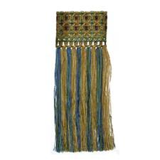 Peacock Decorator Fabric by Robert Allen /Duralee