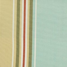 Gold/aqua Decorator Fabric by Duralee