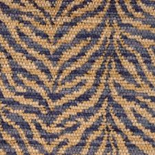 Blue/gold Decorator Fabric by Duralee