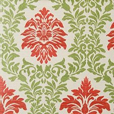 Green/melon Decorator Fabric by Duralee