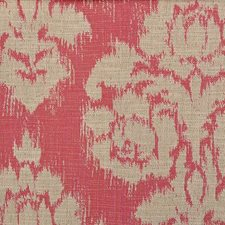 Pink Damask Decorator Fabric by Duralee