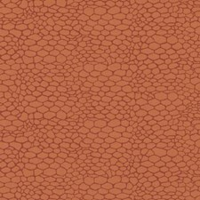 Tangerine Animal Skins Decorator Fabric by Duralee