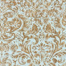 Verdigris Print Decorator Fabric by Scalamandre