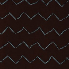 Chocolate/Teal Decorator Fabric by RM Coco
