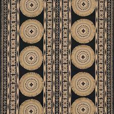 Lava Black Decorator Fabric by Schumacher