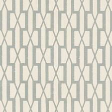 Orpington Blue Decorator Fabric by Schumacher