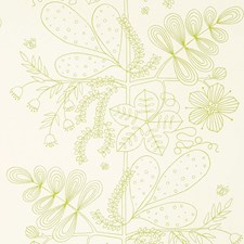Lime Decorator Fabric by Schumacher