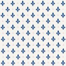 Bleu/amp/Rouge Decorator Fabric by Schumacher