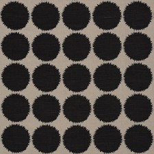 Black/Natural Decorator Fabric by Schumacher