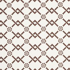 Chestnut Decorator Fabric by Schumacher
