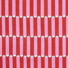 Pink/Red Decorator Fabric by Schumacher