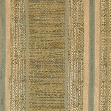 Gold/aqua Decorator Fabric by Highland Court