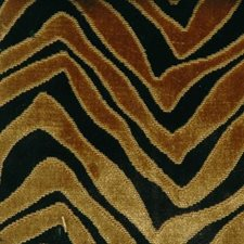 Gold/black Decorator Fabric by Highland Court
