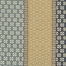 Blue Decorator Fabric by Highland Court