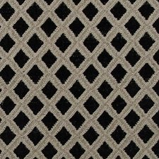 Black/linen Decorator Fabric by Highland Court