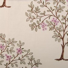 Currant Embroidery Decorator Fabric by Highland Court