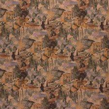 Green/Beige Novelty Decorator Fabric by Kravet